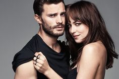 Fifty Shades of Grey, the movie. Christian/Jamie and Anastasia/Dakota. - Fifty Shades of Grey, the movie. Christian/Jamie and Anastasia/Dakota. This is a hot picture of th - Fifty Shades Series, Fifty Shades Movie, Fifty Shades Darker, Fifty Shades Of Grey, Dakota Johnson, Jamie Dornan, Christian Grey, Anastasia, Mr Grey