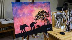 Este artista pinta con luz y es algo deslumbrante