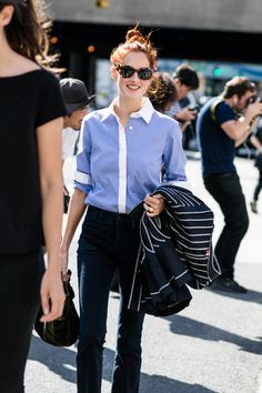 This would be a great Friday work outfit. Taylor Tomasi Hill | New York Fashion Week