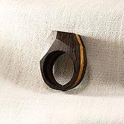 Украшения ручной работы. Ярмарка Мастеров - ручная работа Кольцо из морёного дуба. Handmade. Wood Rings, Wooden Jewelry, Pendant Earrings, Woodland, Resin, Pendants, Creative Crafts, Creativity, Wooden Rings