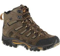 Moab Peak Ventilator Waterproof - Men's - Hiking Boots - J24291   Merrell