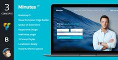 Minutes - Startup Landing Page Bootstrap WP Theme  -  https://themekeeper.com/item/wordpress/minutes-startup-landing-page-bootstrap-wp-theme