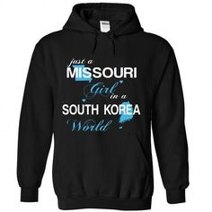 WorldBlue Missouri-South Korea Girl - #gifts for girl friends #gift exchange. GET YOURS => https://www.sunfrog.com//WorldBlue-Missouri-South-Korea-Girl-5036-Black-Hoodie.html?68278