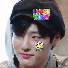 Minhyuk, Jinyoung, Love Me Harder, S Icon, Cybergoth, Cute Icons, Kpop Aesthetic, Yugyeom, Asian Boys