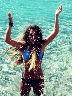 Be happy, every girls summer dream<3