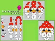 QuickLinks Santa Mural - a Christmas gift from Luc Bertrand CBA Balloon Arch Diy, Love Balloon, Balloon Backdrop, Balloon Columns, Balloon Wall, Balloon Arrangements, Balloon Centerpieces, Balloon Decorations Party, Shower Centerpieces