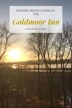If you're looking for a place in the Midwest to get away from it all, look no further than the Goldmoor Inn in Galena, Illinois. Comfortable luxurious rooms in beautiful surroundings. The breakfasts will have you staying for just one more cup of coffee before heading out to explore downtown historic Galena.