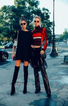 Taylor Hill & Romee Strijd leaving the Mugler fashion show in Paris on October Taylor Marie Hill, Taylor Hill Style, Vs Models, Models Off Duty, Fashion Models, Fashion Outfits, Womens Fashion, Casual Outfits, Fashion News