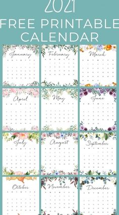 Free Printable Calender, Monthly Planner Printable, Weekly Planner, Free Printables, Calendar Templates, College Planner, College Tips, Printable Designs, Kids Calendar