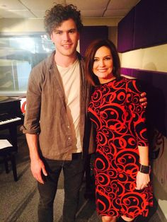 Hey it's .@vancejoy at @KOSI1011 Nice guy and great performer. -- Denise Plante