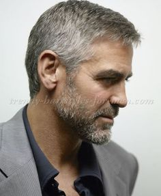 hairstyles for men over 50 - George Clooney side part hairstyle http://blanketcoveredlover.tumblr.com/post/157380040318/httpshort-haircutstylescomafrican-american-wed