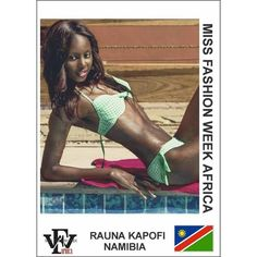 Here is a swimwear submission for the Miss Fashion Week Africa contest by Rauna Kapofi from #Namibia  If you are yet to complete your profile you still have to the 28th to do so. However please take note of the below submissions that you need to make in order to avoid delays : 1. Two (2) Head-shot Photos (Front and Side View) 2. Two (2) Full-Length Photos (Front and Side View) 3. One (1) Swimwear photos 4. Scanned copy of valid international passport 5. Interview Video that is not more than…