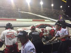 In addition to four tires & fuel, @keithrodden instructs team to repair left front nose during stop.