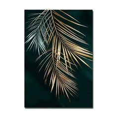 Abstract Golden Plant Leaves Picture Wall Poster Modern Style Canvas Print Painting Art Aisle Living Room Unique Decoration - Abstract Golden Plant Leaves Picture Wall Poster Modern Style Canvas P – Homeinsides The Effectiv - Gold Wall Art, Leaf Wall Art, Leaf Art, Abstract Canvas, Canvas Wall Art, Canvas Prints, Canvas Frame, Canvas Canvas, Fine Art Prints
