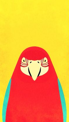 "Tori no iro and ""Camera+"" Blue-and-yellow Macaw→Red Macaw Parrot Wallpaper, Iphone Wallpaper, Penguin Tattoo, Wallpaper Maker, Smiling Dogs, Bird Illustration, Stippling, Illustrations And Posters, Cute Wallpapers"