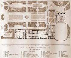 petit trianon plan - Google-søgning