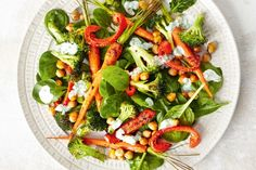 With broccoli, chickpeas, yoghurt and chilli, this dish is brimming with superfood goodness.