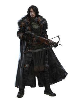 Character Design: Crow