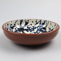 ABS Terracotta Large - Terracotta Splatter Ware Bowls - Trouva