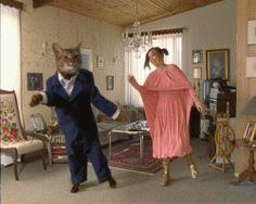 EI, en pidä tällaisista, joissa kissa on puettu, tai inhimillistetty :(