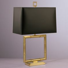 Jonathan Adler Meurice Square Table Lamp in Table Lamps