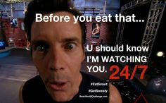 stay healthy, don't eat like crap... Because if you do, you'll feel like crap.