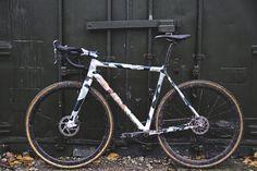 Custom Festka ONE Gravel Camo. Winter is cross bike.