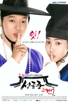 """Sungkyunkwan Scandal""- I really enjoyed this kdrama! It had a great love story and bromance in it! I highly recommend it!"