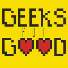 We're going to the Geeks for Good Jam!