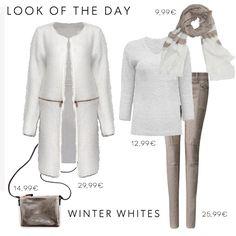 Wie wäre es heute mit einem, smart-casual Look in Winter Whites? #ootd #winterwhites #mycolloseum #lookswelove