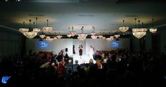 Active's Fashion Division amps up the drama with elegant lighting and clean scenic pieces. Fashion Events, Division, Runway, Drama, Elegant, Lighting, Concert, Cat Walk, Classy