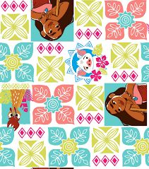 WOODLAND HIDEAWAY Fabric Cotton Flannel Large Craft Quilting Panel Kids ANIMALS