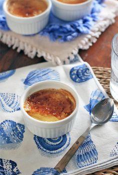 Tahitian Vanilla Crème Brûlée... no special torch needed!