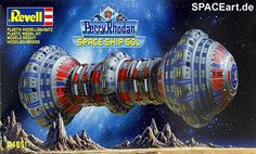 Perry Rhodan: 4er Raumschiff Set, Modell-Bausatz ... http://spaceart.de/produkte/prd002.php