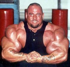 Greg Valentino - World's biggest biceps - 28 inches