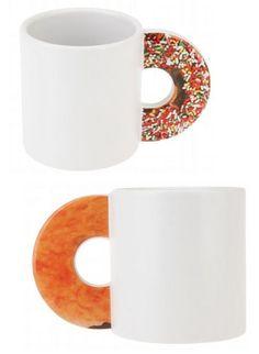 Donut Handle Mug