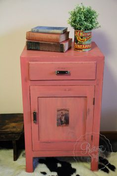I Restore Stuff: Miss Mustard Seed's Milk Paint - Apron Strings - Colour of the Month February