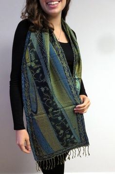 Beautiful Pashmina Scarves on sale at Yours Elegantly - soft intricate and affordable accessories. Shop now so many colors in designer beauty. http://www.yourselegantly.com/pashmina-shawls/pashmina-scarves.html