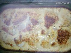 Morčacie (kurcie) prsia zapečené s nivovou omáčkou (fotorecept) - recept | Varecha.sk Ale, Oatmeal, Food And Drink, Ice Cream, Pudding, Breakfast, Desserts, Cooking, No Churn Ice Cream