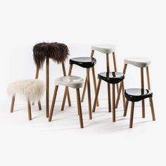 Classic Stools with a Contemporary Twist by barfuss #MONOQI