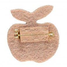 Des petits hauts Broche Pomme Paillettée Lantoinette-listing