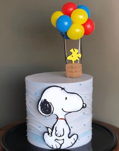 Peanuts Gang Birthday Party, Snoopy Party, Snoopy Birthday Images, Bolo Snoopy, Snoopy Cake, Bolo Mickey E Minnie, Images Snoopy, Birthday Greetings For Sister, Cake Designs Images