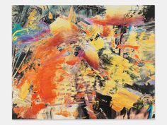 Urs Fischer painting TBD 2014