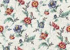 Tinker Tailor floral Floral 40s 50s Vintage Floral 40s 50s Vintage - Wallpaper Zone