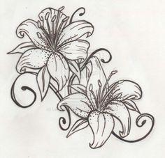 Great stargazing lilies