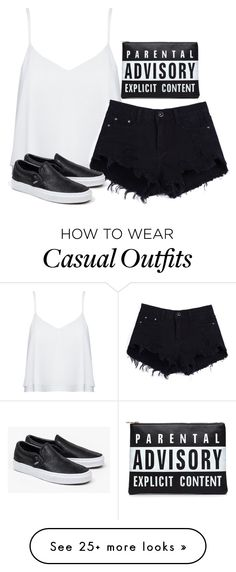 """Casual Date"" by josiez16 on Polyvore featuring Alice + Olivia and Vans"