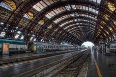 milano stazione centrale ferrovie - milan train station / italia, italy / hdr by Paolo Margari, via Flickr