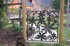 great idea for my fence !