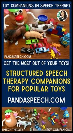 Read about toy companions in speech therapy.