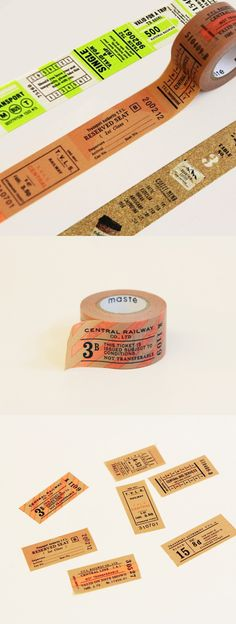 Unique and versatile Masking tape with a gorgeous vintage look. It can be used for decorating, indexing, gift wrapping and so much more!